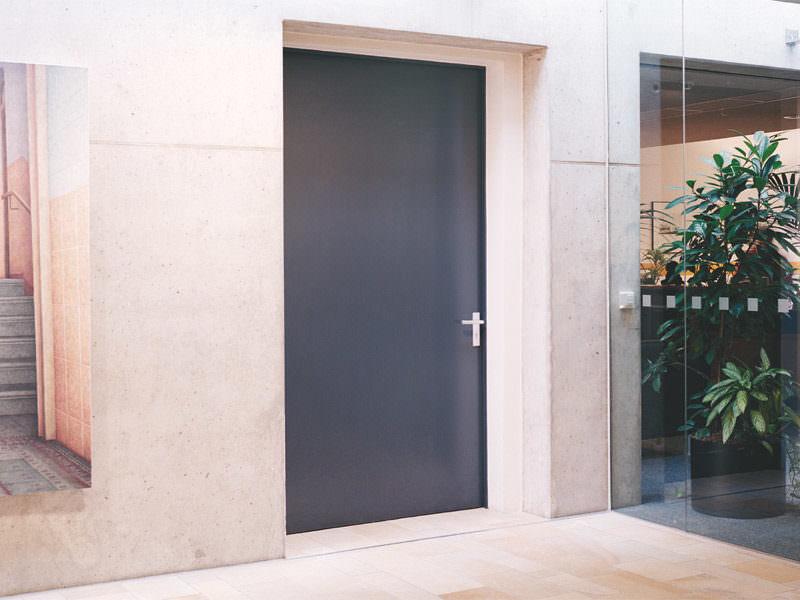 """Fire-proof steel doors T30-1-FSA """"KB"""" resp. T30-1-RS-FSA """"KB"""""""