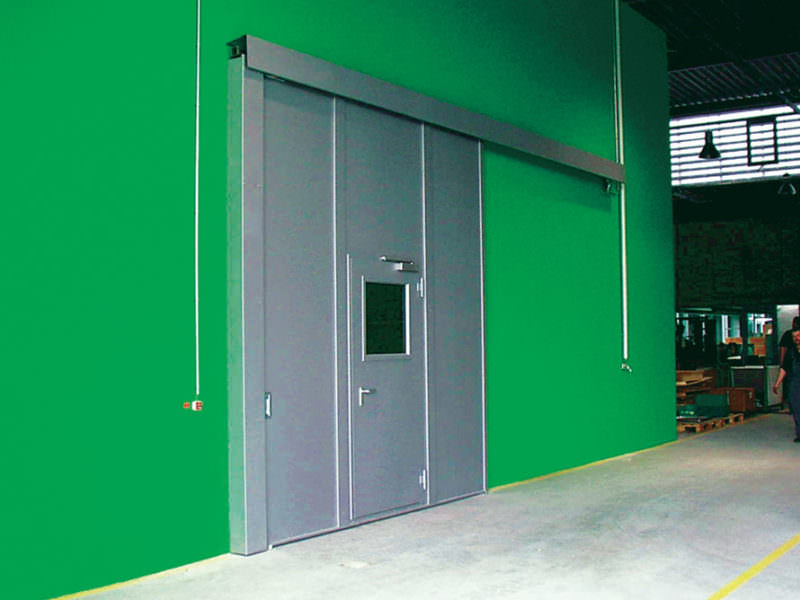 "Fire Resistant, Single Leaf Sliding Door T90-1-FSA ""KB-S""/ T90-1-RS-FSA ""KB-S"""