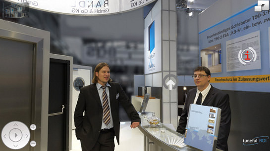 Interactive Exhibition Stand BAU 2011